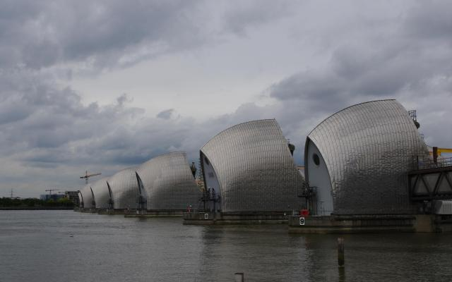 Thames Flood Barrier, Woolwich, London