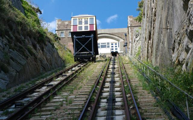 East Hill Funicular Railway, Hastings, East Sussex