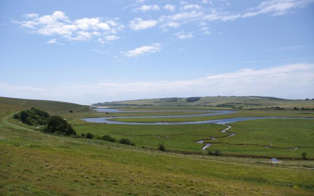 River Cuckmere, Exceat, East Sussex