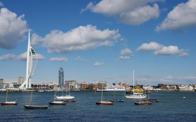 Portsmouth Harbour, Portsmouth, Hampshire