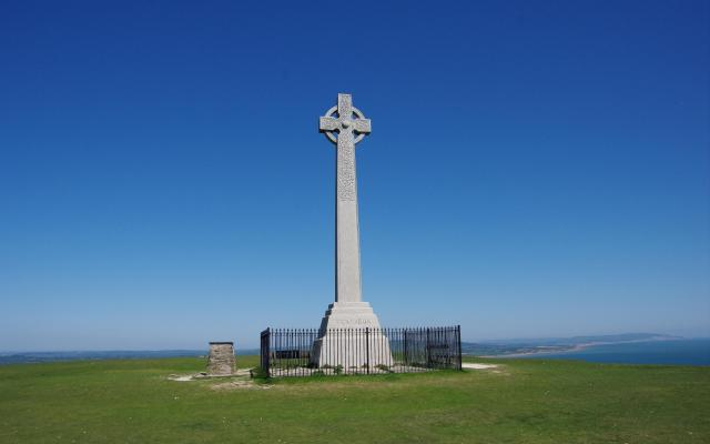 Tennyson Memorial, Tennyson Down, Isle of Wight