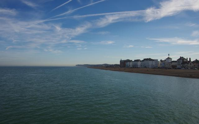 View from Deal Pier, Kent