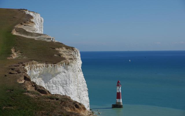 Beachy Head Lighthouse, near Eastbourne, East Sussex