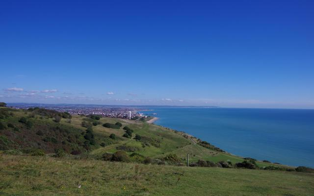 Eastbourne and Whitebread Hole, near Eastbourne, East Sussex