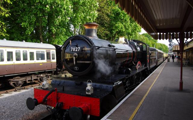 Paignton & Dartmouth Steam Railway, Queen's Park Station, Paignton, Devon