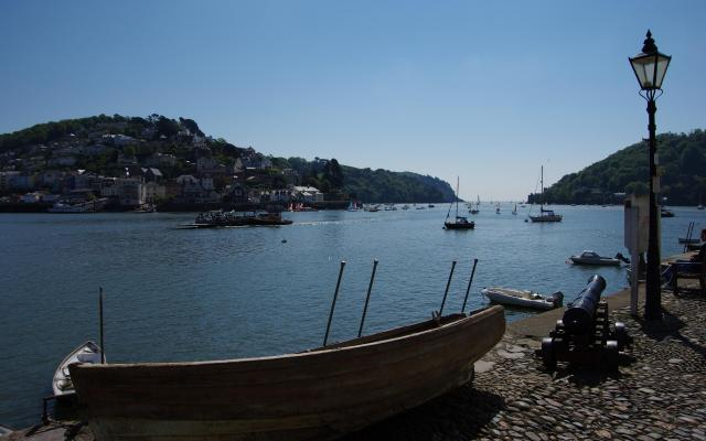 View to Kingswear from Dartmouth Quay, Dartmouth, Devon