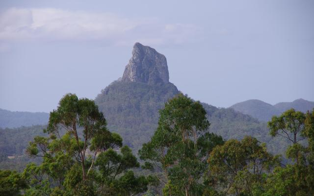 Mount Coonowrin, Glasshouse Mountains, Queensland, Australia