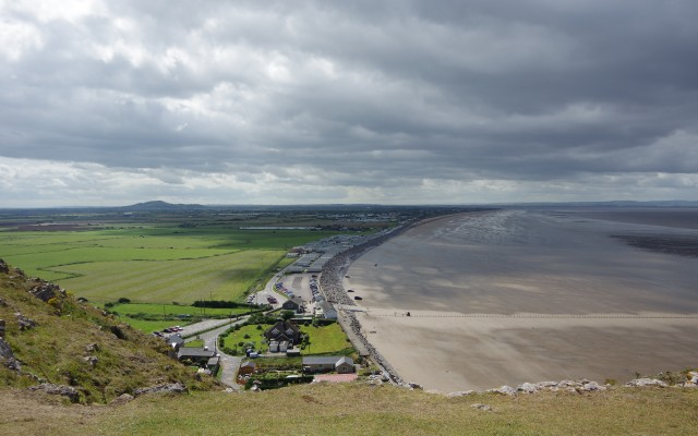 View south from Brean Down, Brean, Somerset