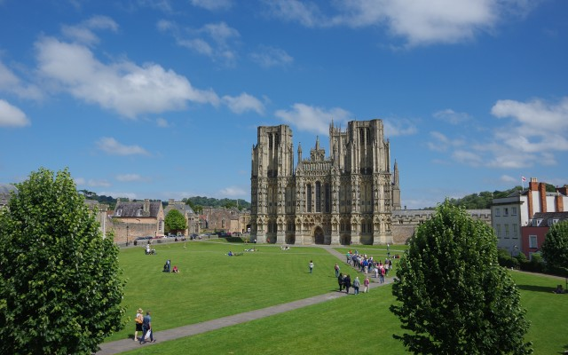 Cathedral Green, Wells, Somerset